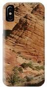 Sculpted Colorado Sandstone Paria Canyon IPhone Case