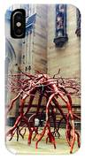Sculpture At Trinity Church IPhone Case