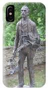 Sculpture Vincent Van Gogh - St Remy IPhone Case