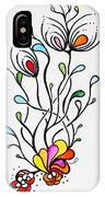 Sea Flowers IPhone X Case