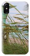 Sea Oats And The Tower IPhone Case