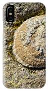 Sea Shell Rock IPhone Case