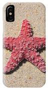 Sea Star - Red IPhone Case