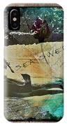 Sea Swept Love IPhone Case