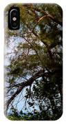 Sea Through Trees IPhone Case