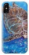 Sea Turtle Mr. Longevity IPhone Case