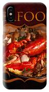 Seafood Gallery IPhone Case