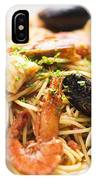 Seafood Pasta Dish IPhone Case