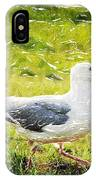 Seagull Walking IPhone Case