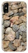 Seamless Background Gravel Stones IPhone Case