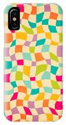 Seamless Color Mosaic Background IPhone Case