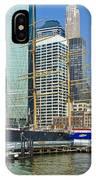Seaport Harbor Nyc IPhone Case