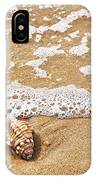 Seashells And Lace IPhone Case