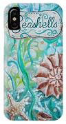 Seashells II IPhone Case