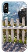 Seaside Fence IPhone Case