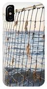 Seaside Nets IPhone Case