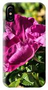 Seasons Last Rose IPhone Case