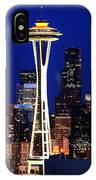 Seattle By Night IPhone Case