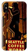 Seattle Coffee Works IPhone Case