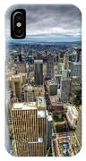 Seattle From Above IPhone Case