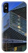 Seattle Library IPhone Case