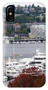 Seattle Marina IPhone Case