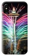 Seattle New Year IPhone Case