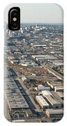 Seattle Skyline And South Industrial Area IPhone Case