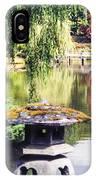 Seattle Tea Garden Reflections IPhone Case