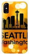 Seattle Wa 3 IPhone Case