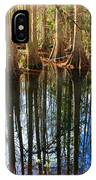 Sebring Cypress Swamp Reflection IPhone Case
