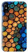 Second Chances - Abstract Art By Sharon Cummings IPhone Case