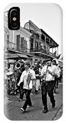 Second Line Parade Bw IPhone Case