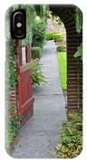 Secret Garden Door IPhone Case