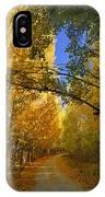 Autumn Secrets IPhone Case