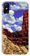 Sedona Arizona Red Rock Secret Mountain Wilderness IPhone Case