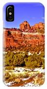 Sedona Arizona Secret Mountain Wilderness IPhone Case