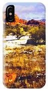 Sedona Winter Painting IPhone Case