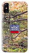 See Rock City IPhone Case