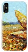 Seeing The Sun IPhone Case