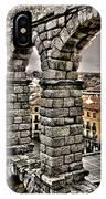 Segovia Aqueduct - Spain IPhone Case