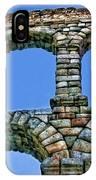Segovia Aqueducts Blue By Diana Sainz IPhone Case