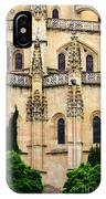 Segovia Cathedral IPhone Case