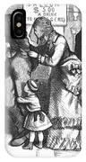 Segregated Saloon, 1875 IPhone Case