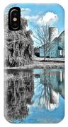 Selective Color Fall Day IPhone Case