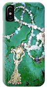 Self-esteem Necklace With Offerings Goddess Pendant IPhone Case