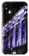 Selfridges London At Christmas Time IPhone Case