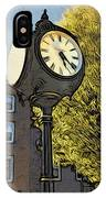 Sellersville Time IPhone Case