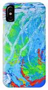semi abstract Mahi mahi IPhone Case