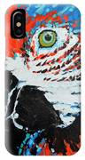 Semiabstract Parrot IPhone Case
